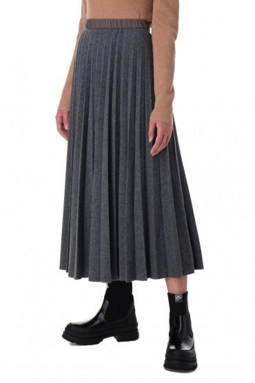 Плиссированная юбка TELA TELA20007
