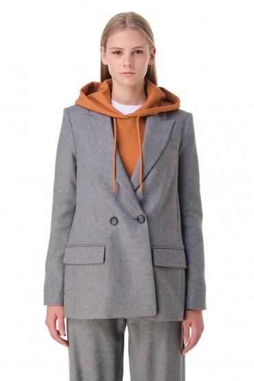 Двубортный пиджак TELA TELA20010