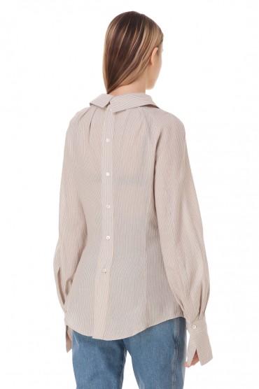 Блуза в полоску TRE BY NATALIE RATABESI TRE10005