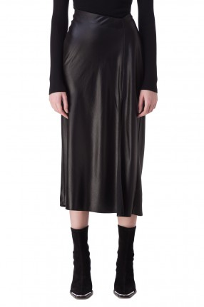 ALEXANDER WANG Асимметричная юбка с разрезом