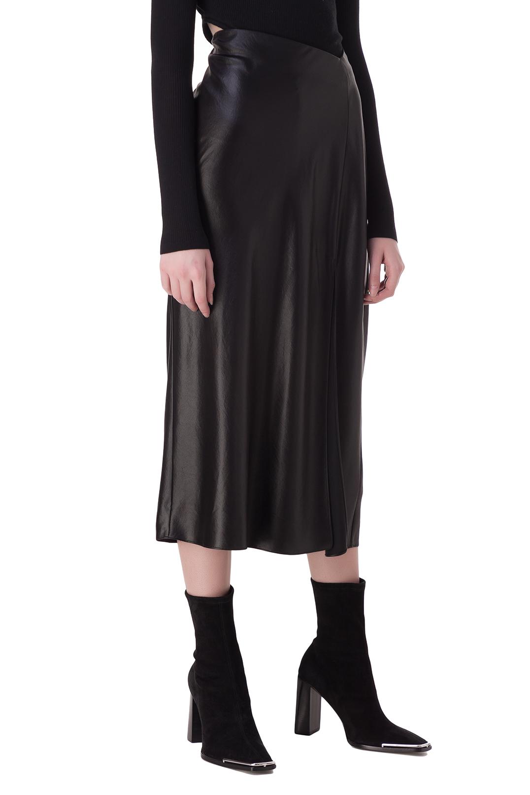 Асимметричная юбка с разрезом ALEXANDER WANG TWAN20014