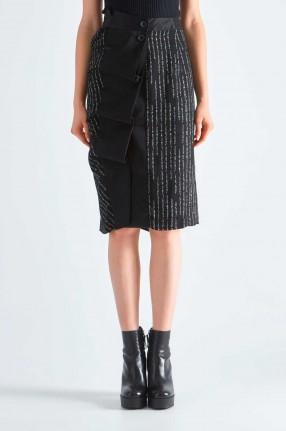 UNRAVEL PROJECT Асимметричная юбка