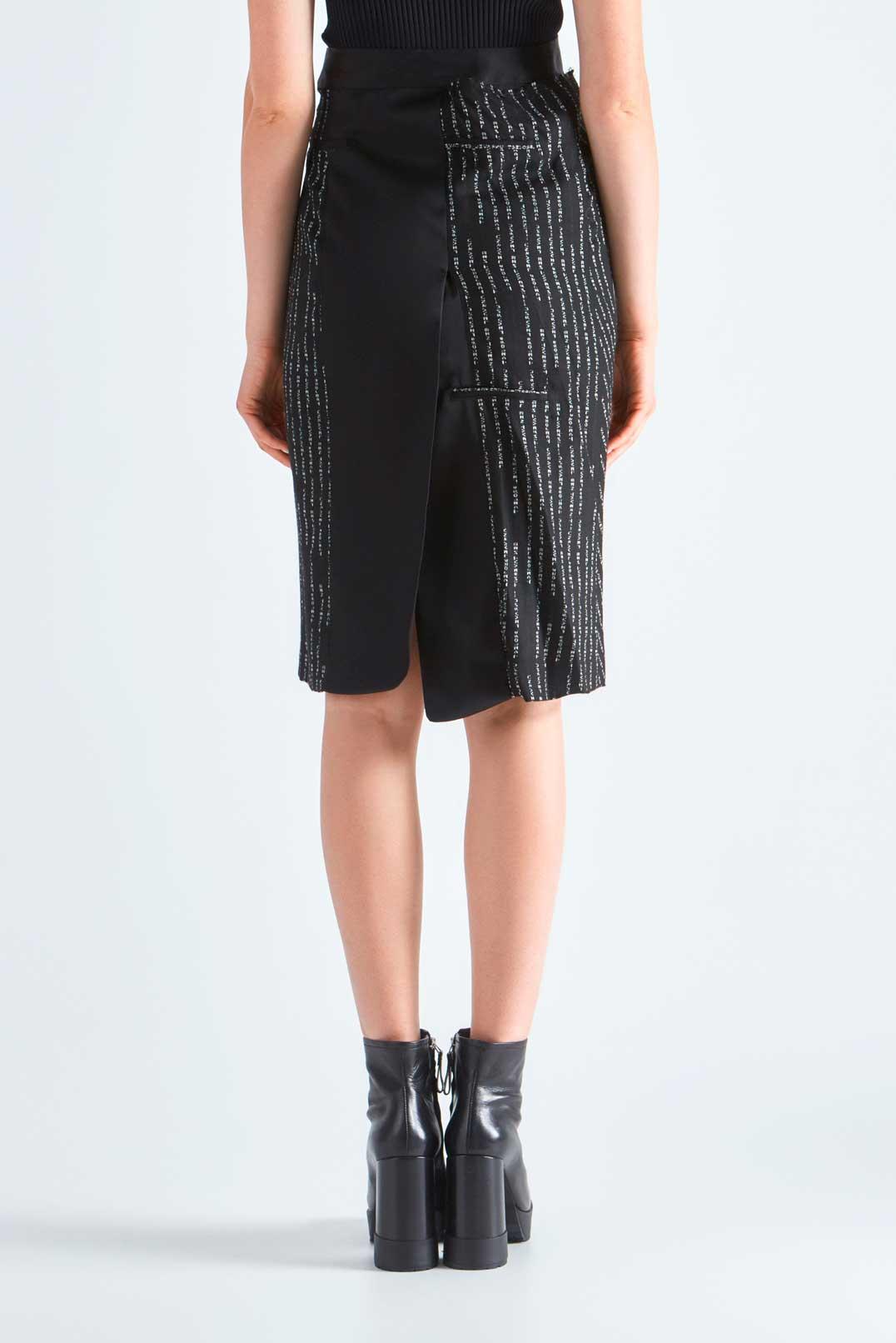 Асимметричная юбка UNRAVEL PROJECT UNRw29002