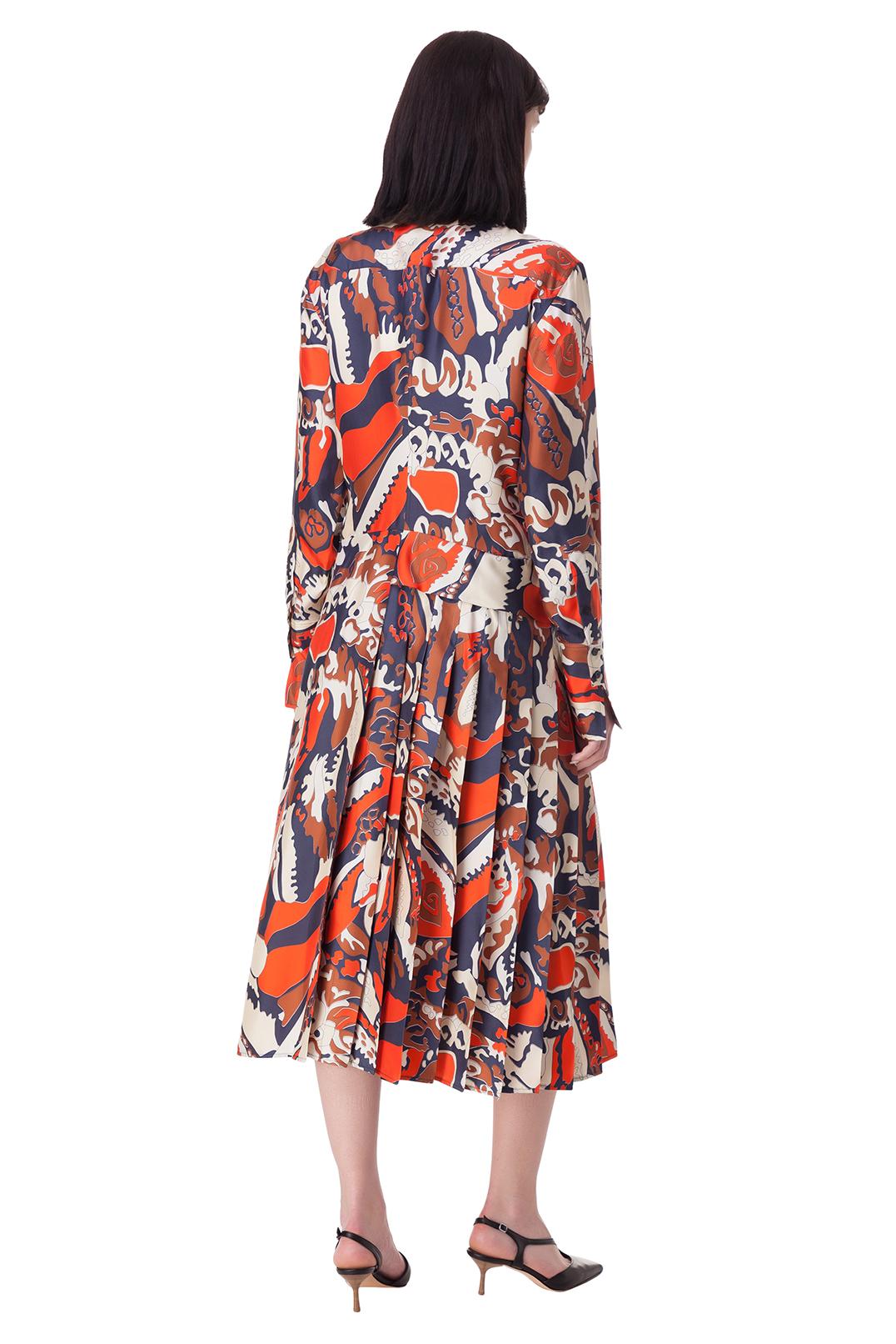 Платье с принтом VICTORIA BECKHAM VB10001