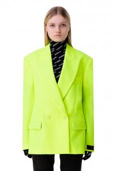 Двубортный пиджак oversize