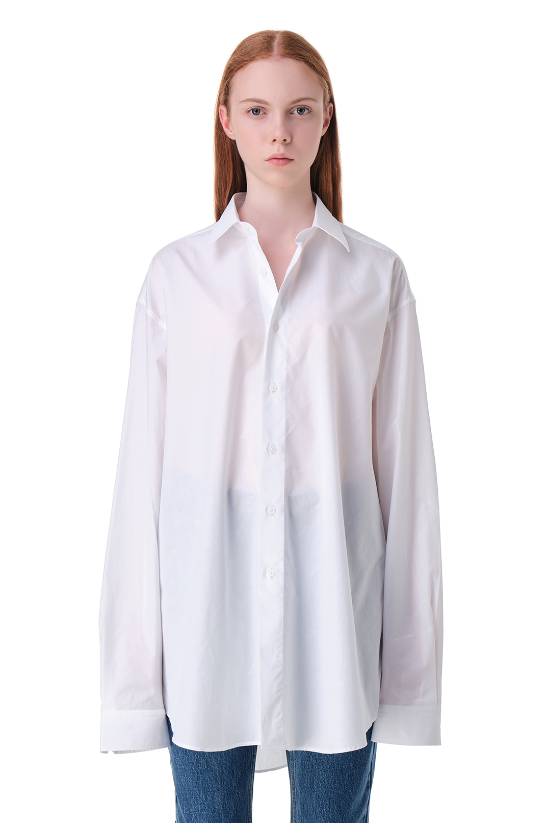 Рубашка oversize VETEMENTS VET20010