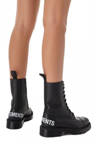 Ботинки с логотипами VETEMENTS VETa21001
