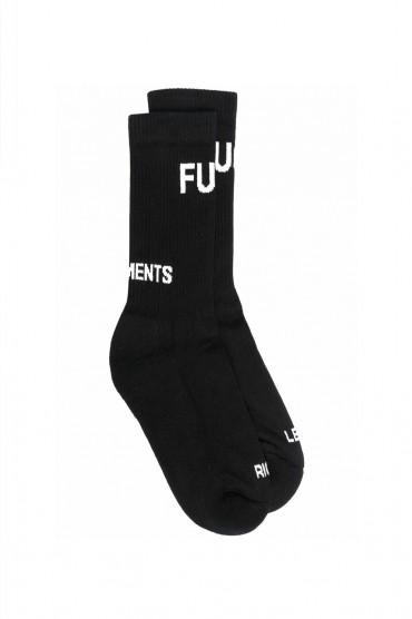 Носки с логотипами VETEMENTS VETa21008