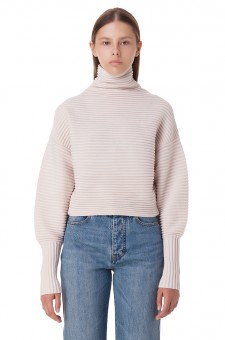 Укороченный свитер oversize