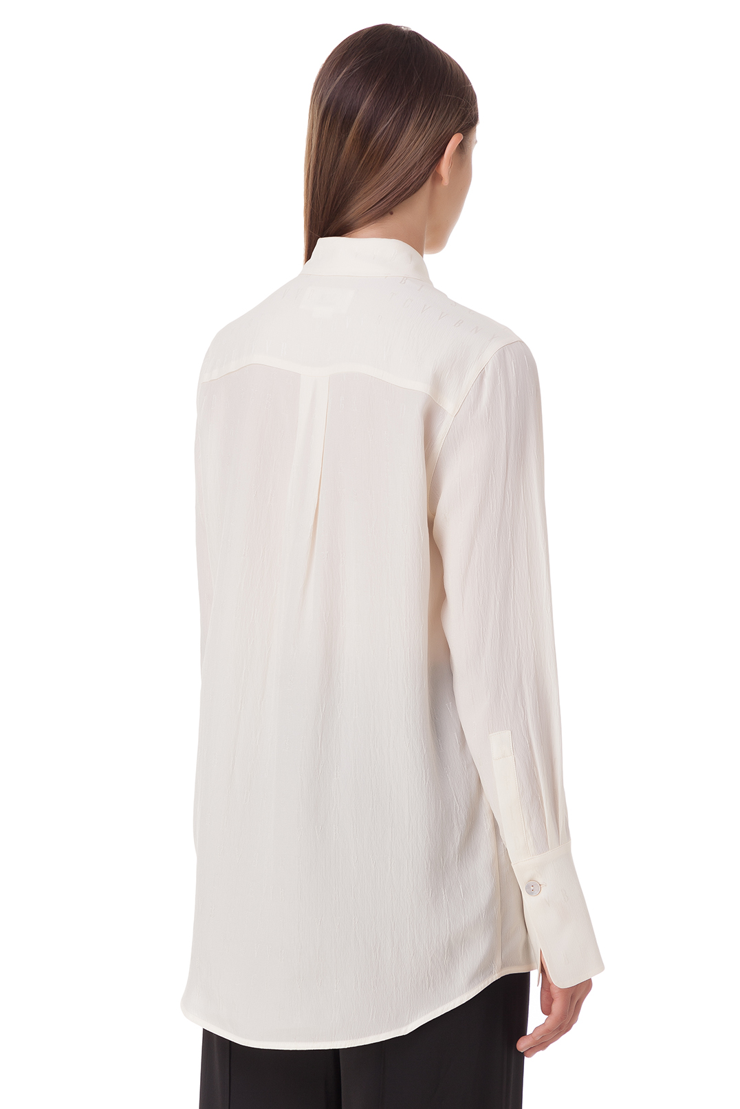 Блуза в логотипах VICTORIA VICTORIA BECKHAM VVB20012