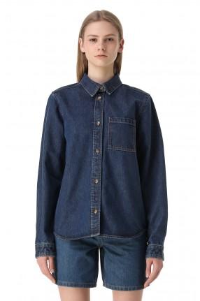 WON HUNDRED Джинсовая рубашка