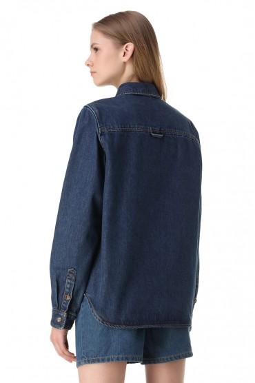 Джинсовая рубашка WON HUNDRED WON11006