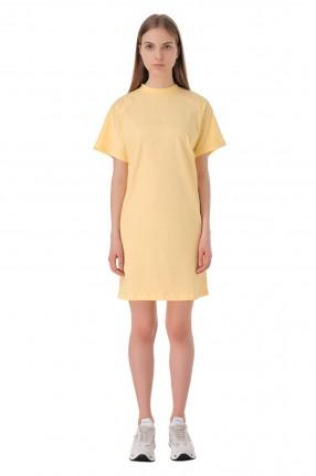 WON HUNDRED Платье-футболка с логотипом