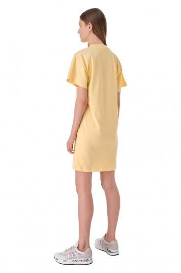 Платье-футболка с логотипом WON HUNDRED WON11010