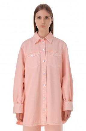 WON HUNDRED Джинсовая рубашка oversize