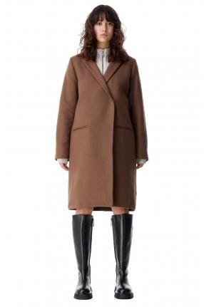 WON HUNDRED Двубортное пальто