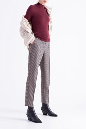 WON HUNDRED Укороченные брюки в гусиную лапку