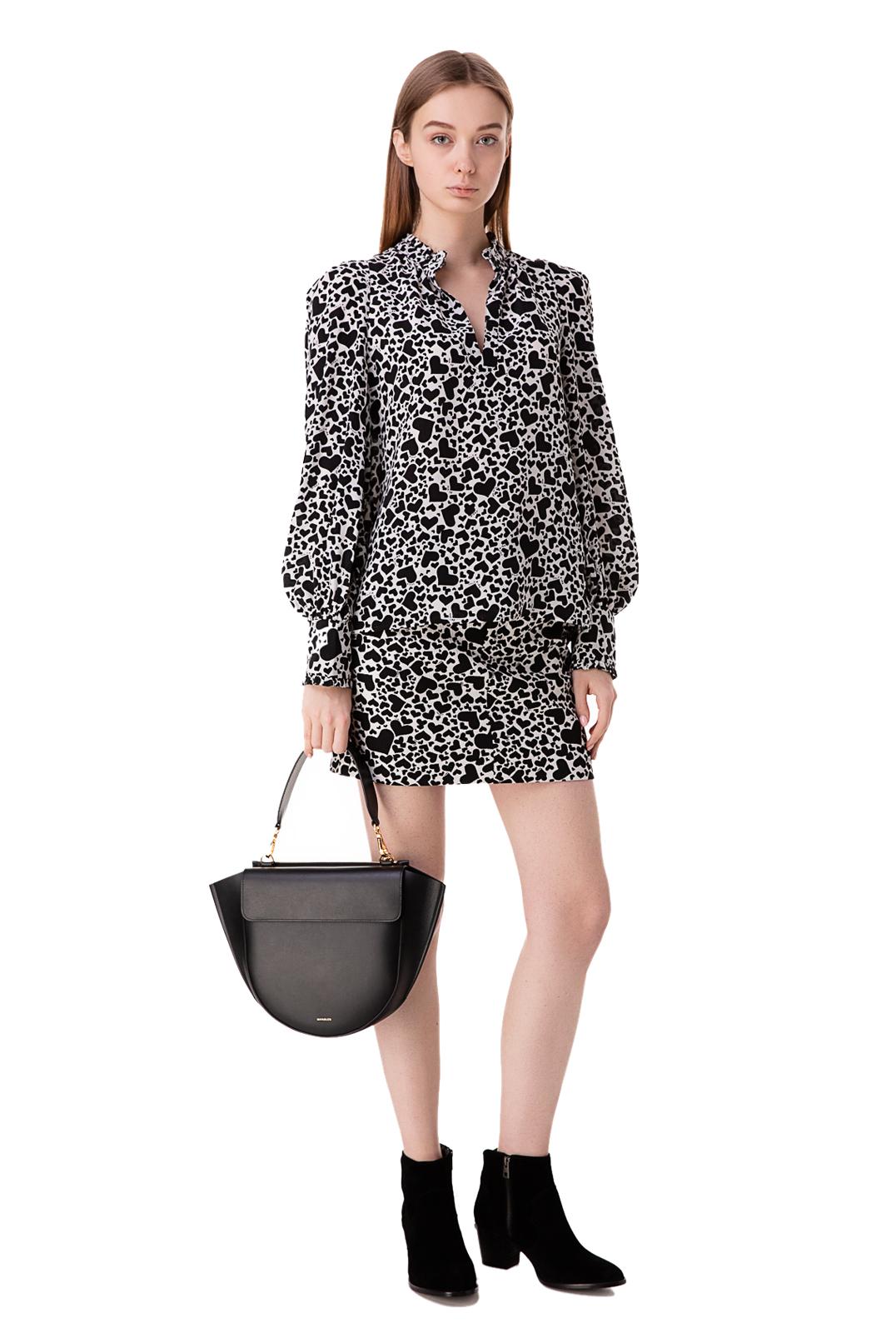Блуза с принтом ZADIG&VOLTAIRE ZVp10007