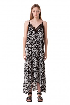 ZADIG&VOLTAIRE Платье-комбинация с принтом