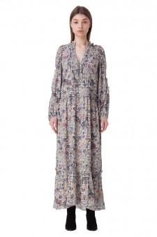 Платье с принтом MANDALA