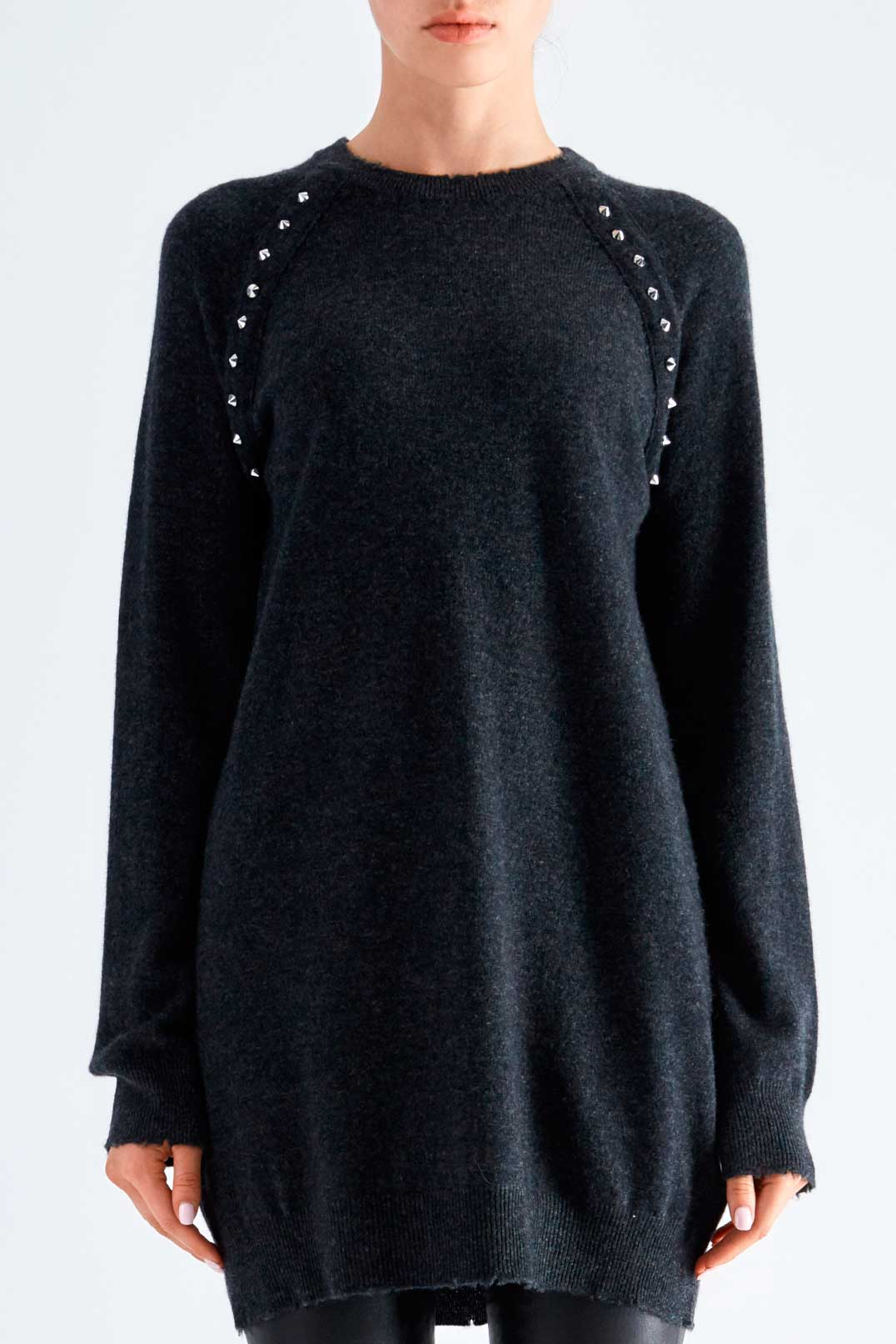 Удлиненный свитер ZADIG&VOLTAIRE ZVp29005