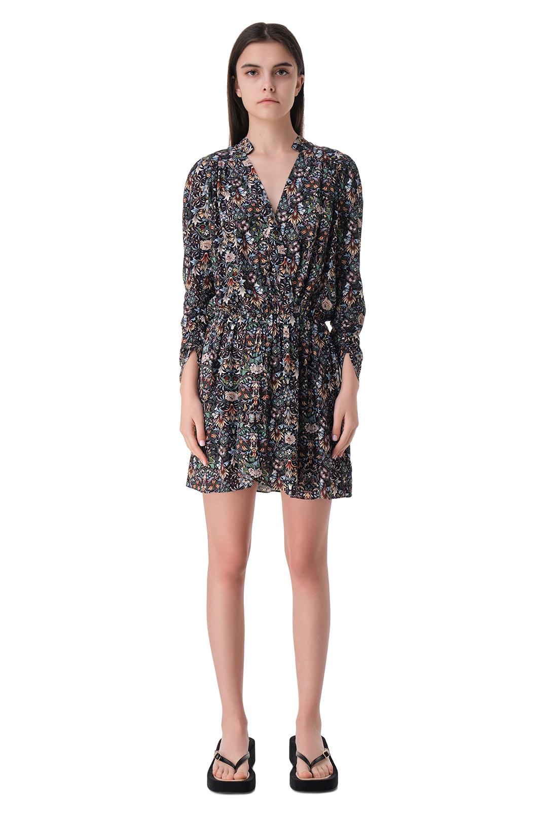 Платье с принтом ZADIG&VOLTAIRE ZVw11004