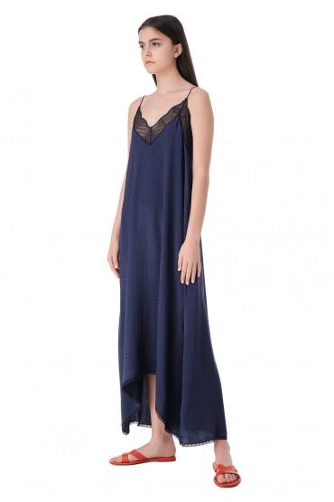 Платье-комбинация с кружевом ZADIG&VOLTAIRE ZVw11006