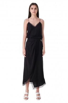 ZADIG&VOLTAIRE Платье-комбинация с кружевом