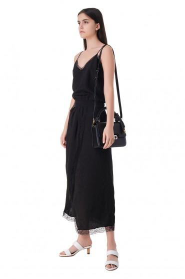 Платье-комбинация с кружевом ZADIG&VOLTAIRE ZVw11008