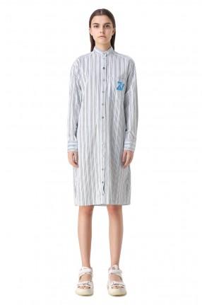 ZADIG&VOLTAIRE Платье-рубашка в полоску
