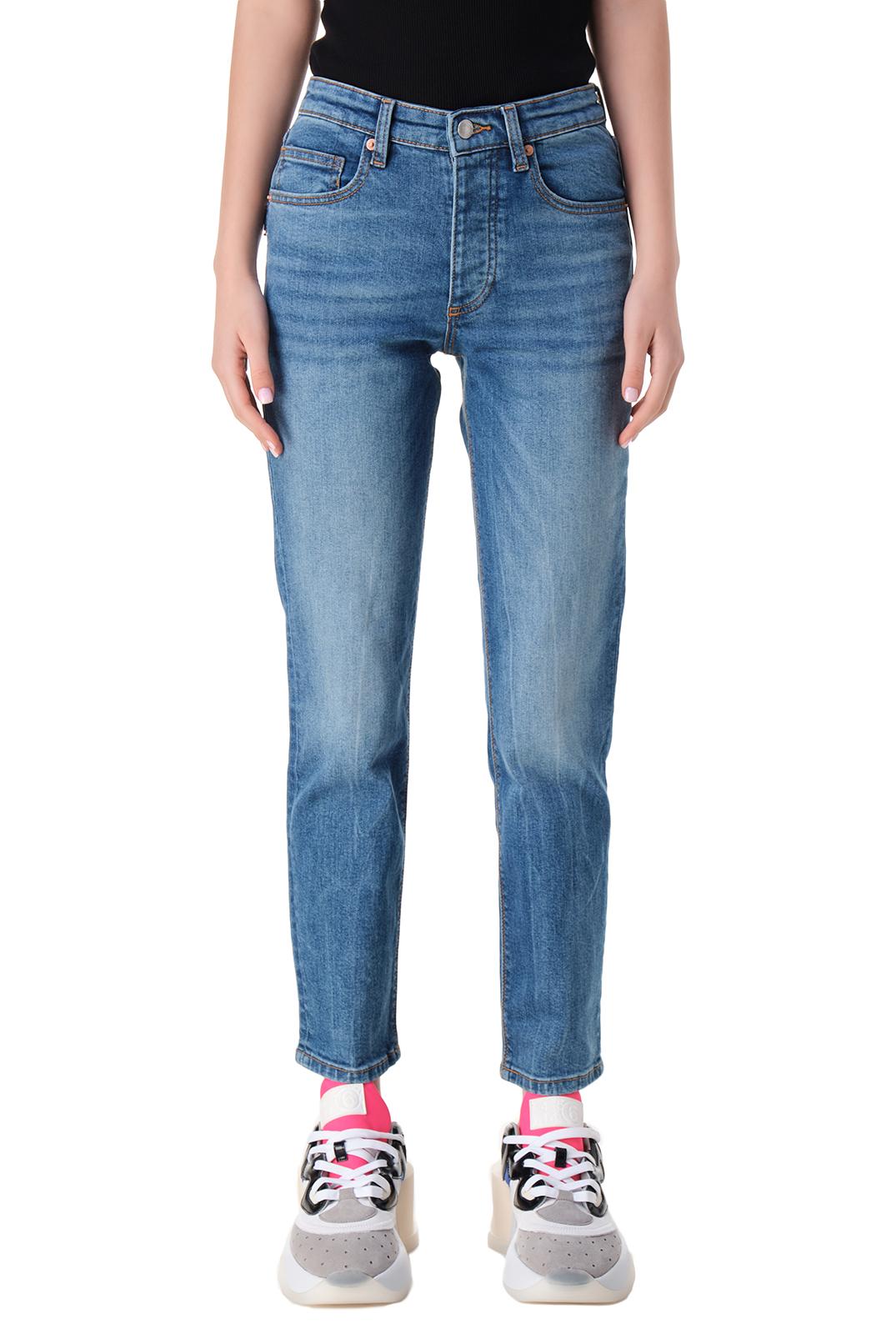 Укороченные джинсы с эффектом потертостей ZADIG&VOLTAIRE ZVw11011