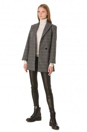ZADIG&VOLTAIRE Двубортный пиджак со съемной брошью