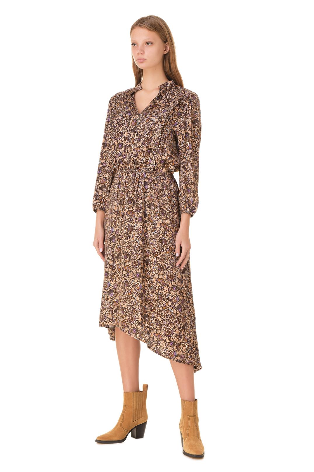 Платье с принтом ZADIG&VOLTAIRE ZVw20007